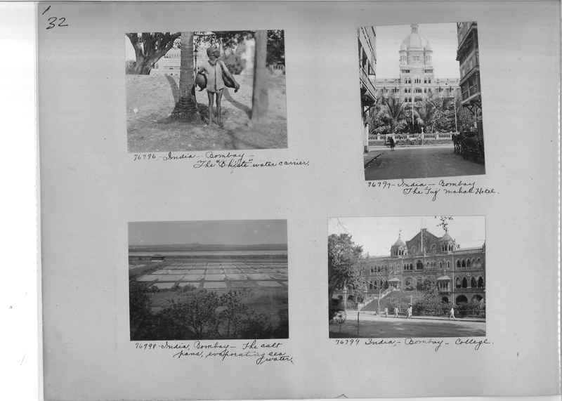Mission Photograph Album - India #09 Page 0032