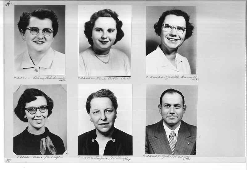 Mission Photograph Album - Portraits #10 Page 0136