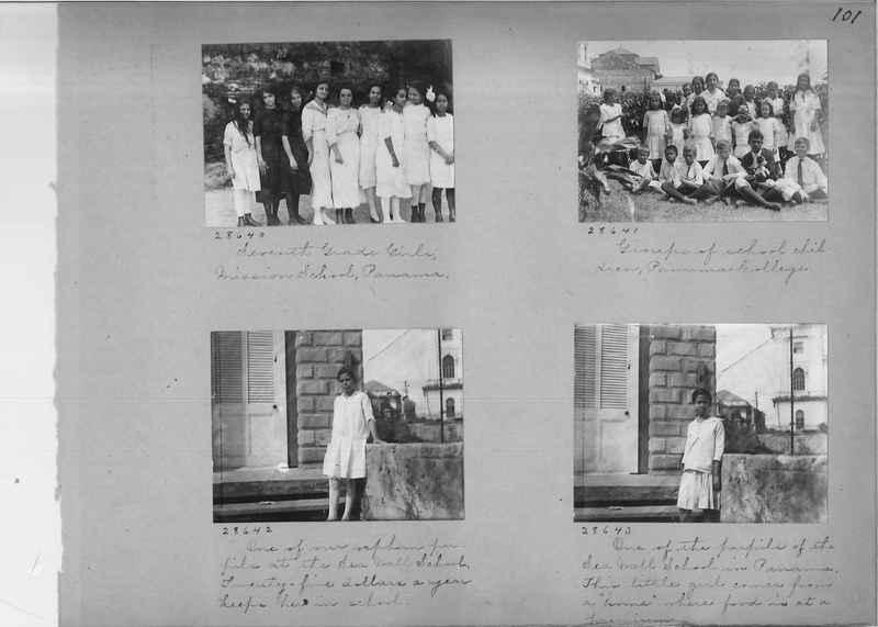 Mission Photograph Album - Panama #02 page 0101