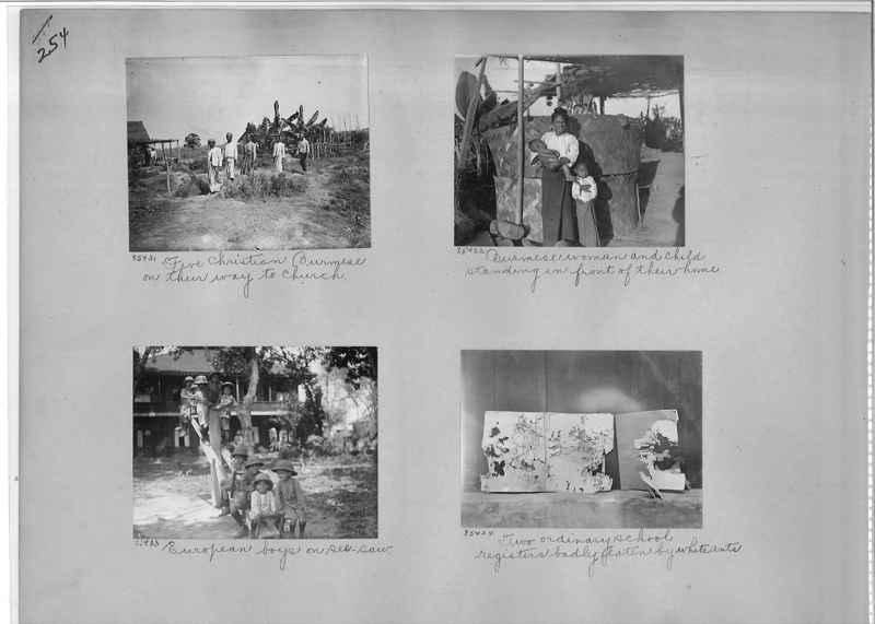 Mission Photograph Album - Burma #1 page 0254