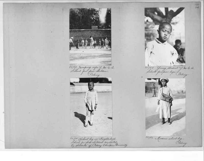 Mission Photograph Album - China #10 pg. 0143