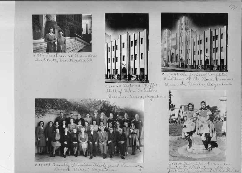 Misson Photograph Album - South America #8 page 0171