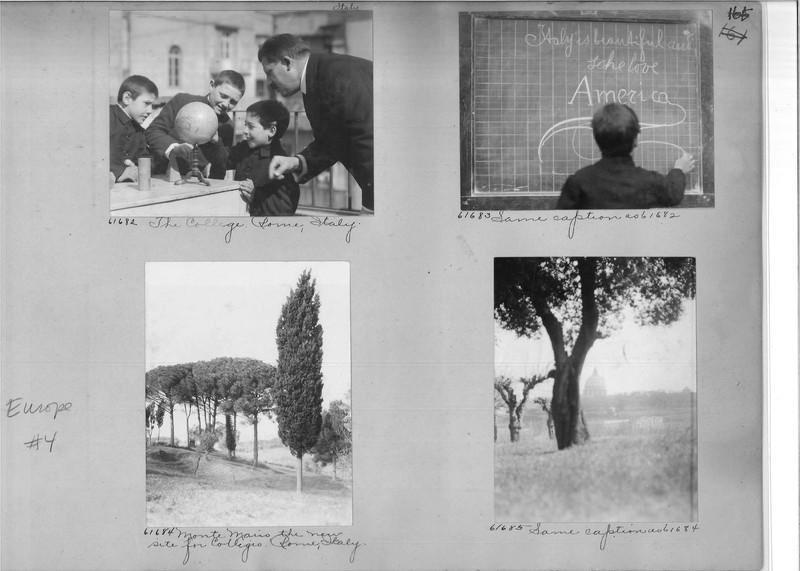 Mission Photograph Album - Europe #04 Page 0165
