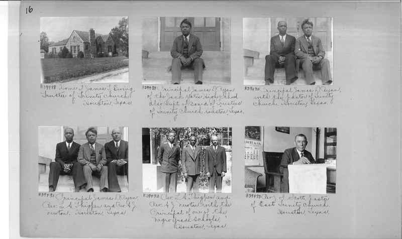Mission Photograph Album - Negro #6 page 0016