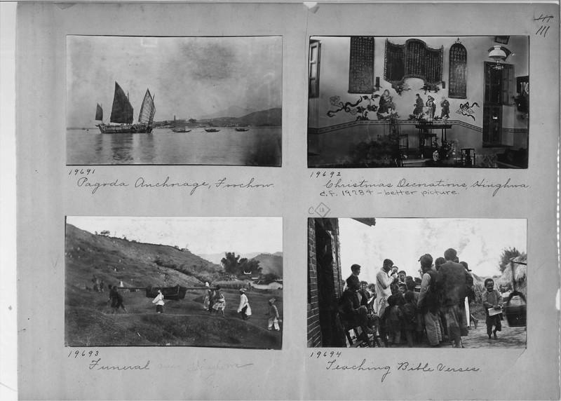 Mission Photograph Album - China #6 page 0111