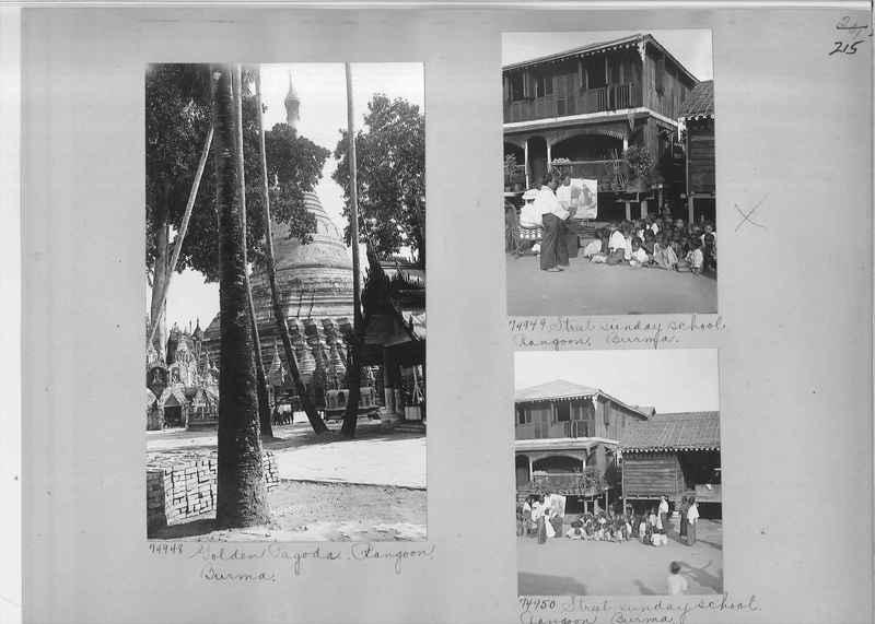 Mission Photograph Album - Burma #1 page 0215