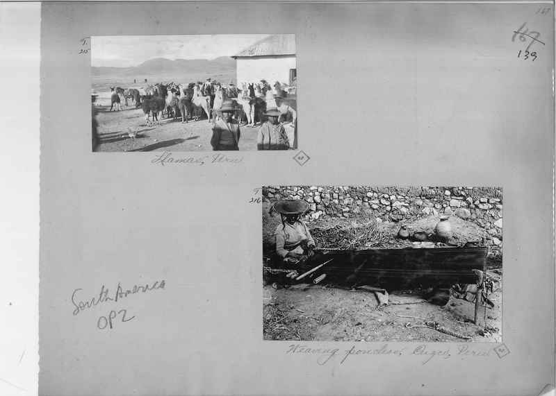 Mission Photograph Album - South America O.P. #2 page 0139