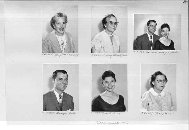 Mission Photograph Album - Portraits #10 Page 0085
