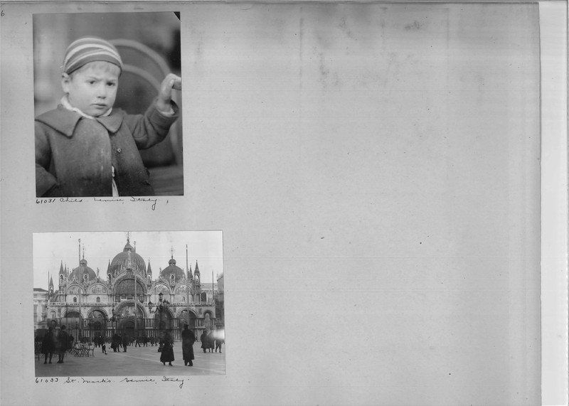 Mission Photograph Album - Europe #04 Page 0006