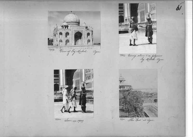Mission Photograph Album - India #09 Page 0061