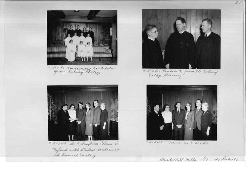 Mission Photograph Album - Portraits #10 Page 0031