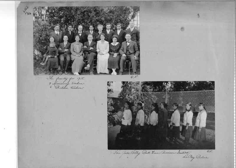 Mission Photograph Album - South America O.P. #1 page 0140