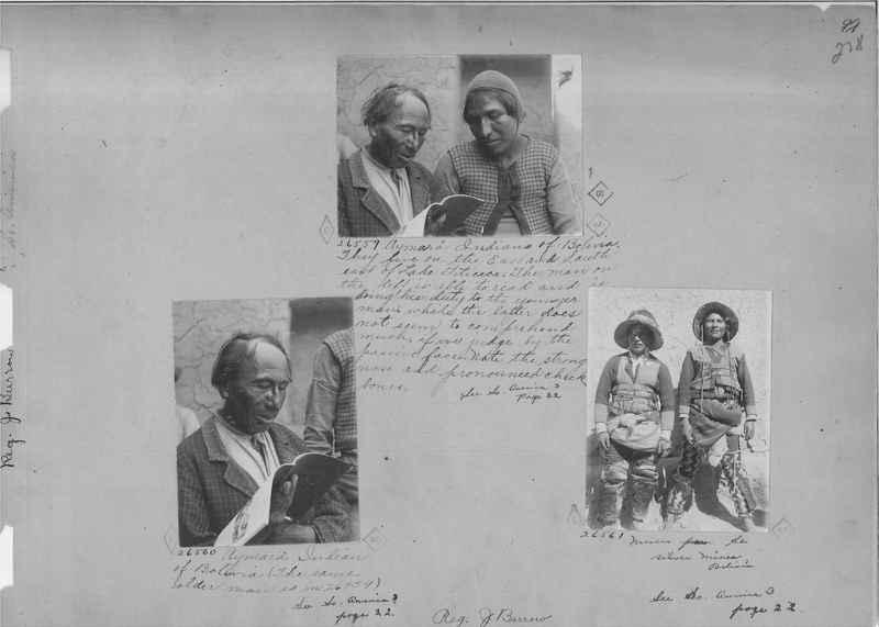Mission Photograph Album - South America O.P. #2 page 0278