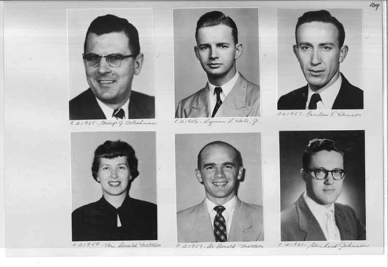 Mission Photograph Album - Portraits #10 Page 0109