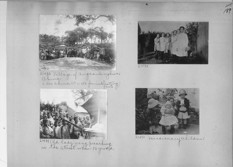 Mission Photograph Album - China #6 page 0189