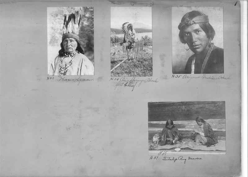 Mission Photograph Albums - Indians #1 page 0001