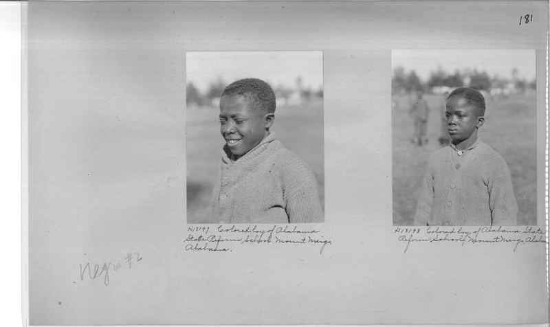 Mission Photograph Album - Negro #2 page 0181