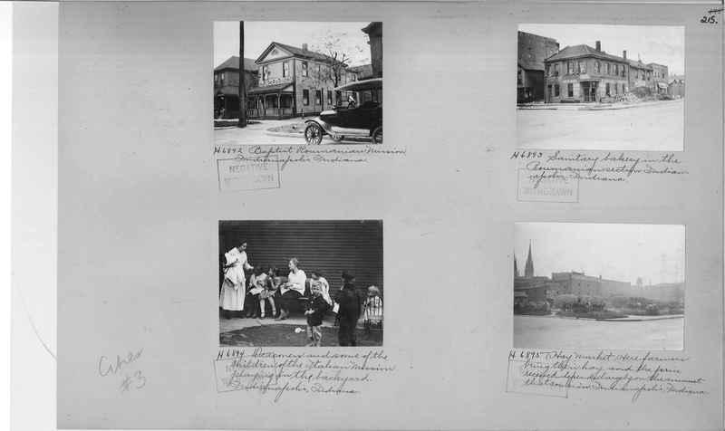 Mission Photograph Album - Cities #3 page 0215