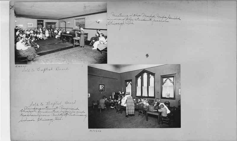 Mission Photograph Album - Education #1 page 0024