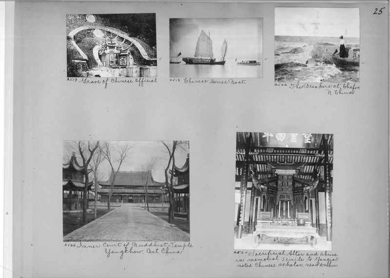 Mission Photograph Album - China #2 page  0025
