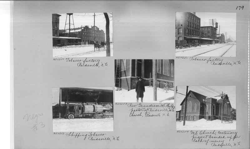 Mission Photograph Album - Negro #3 page 0179