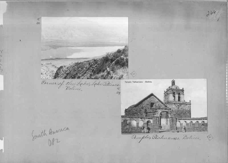 Mission Photograph Album - South America O.P. #2 page 0266