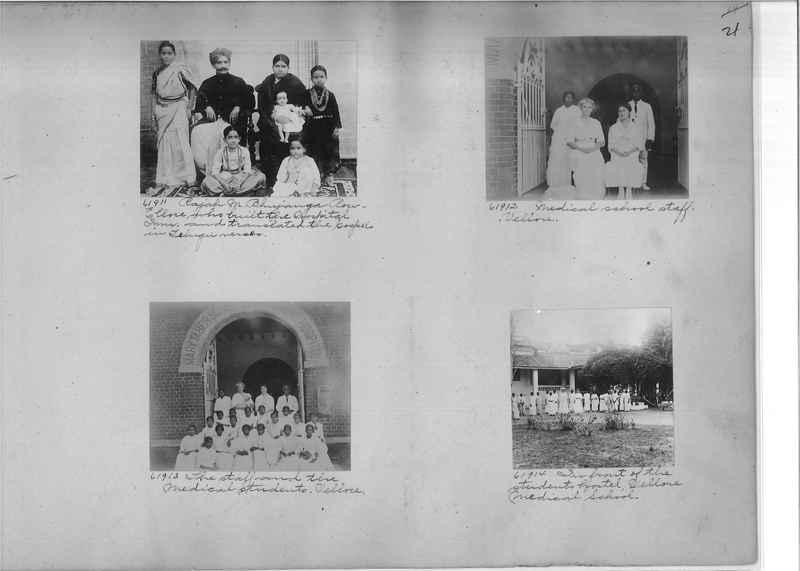 Mission Photograph Album - India #08 Page 0021
