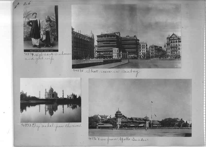 Mission Photograph Album - India #09 Page 0026