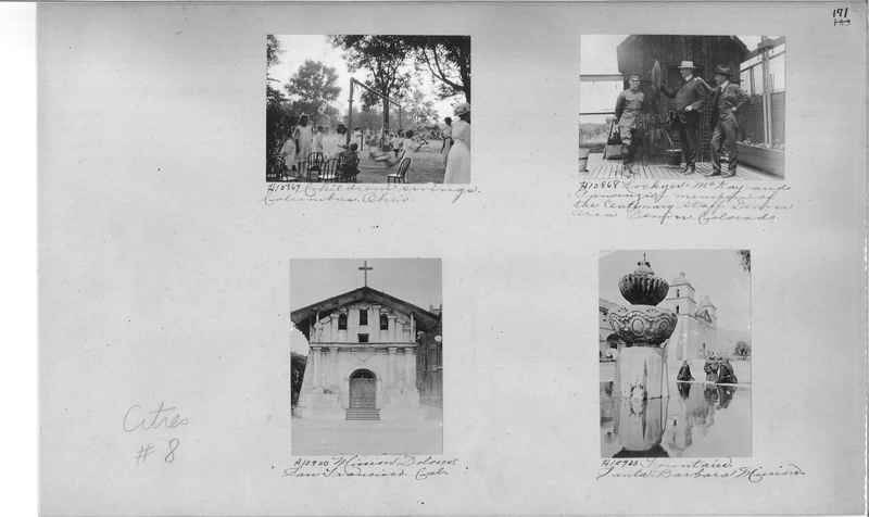 Mission Photograph Album - Cities #8 page 0171