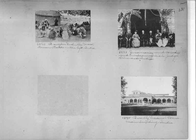 Mission Photograph Album - India #08 Page 0231