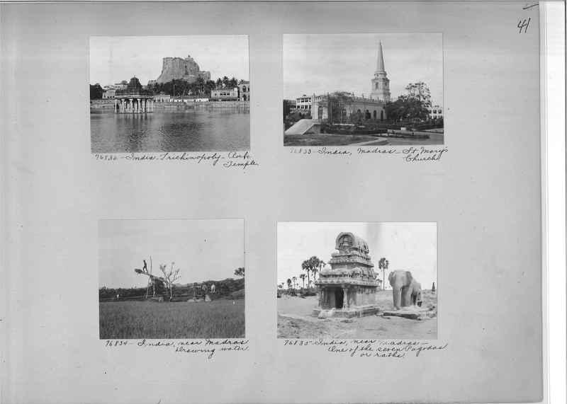 Mission Photograph Album - India #09 Page 0041