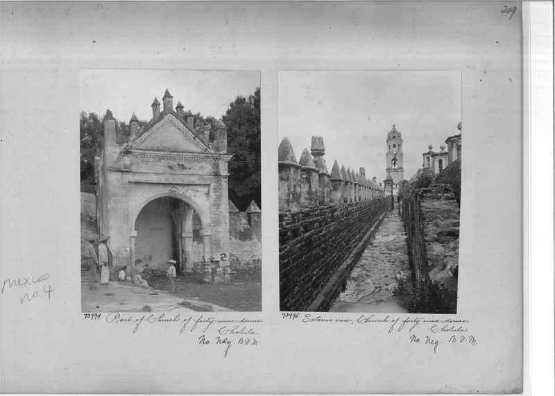 Mission Photograph Album - Mexico #04 page 0209