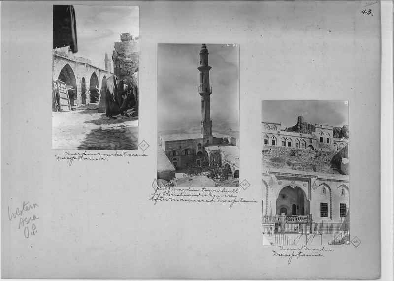 Mission Photograph Album - Western Asia - O.P. - #01 page_0043