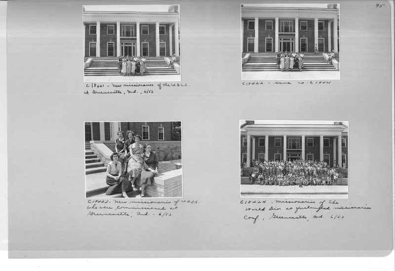Mission Photograph Album - Portraits #08 Page 0045
