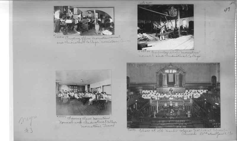 Mission Photograph Album - Negro #3 page 0047