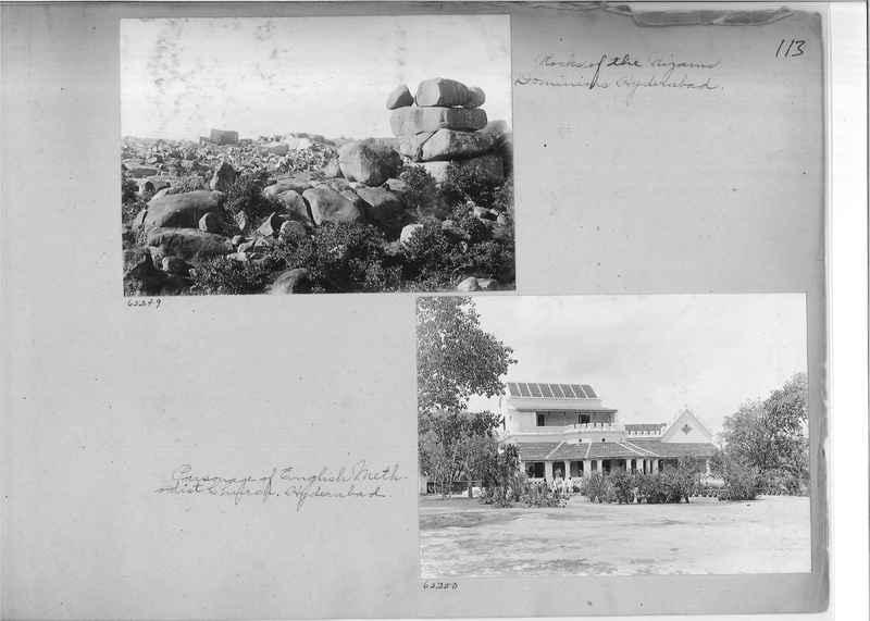 Mission Photograph Album - India #08 Page 0113