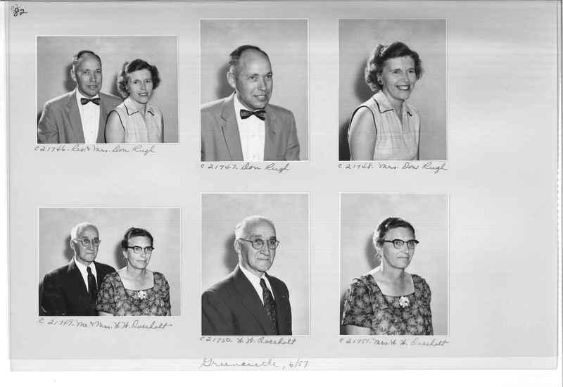 Mission Photograph Album - Portraits #10 Page 0082