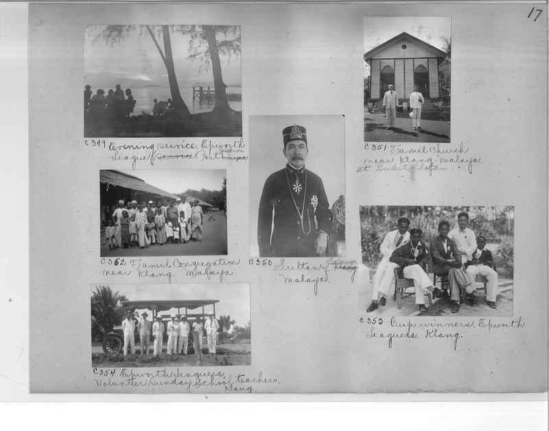 Mission Photograph Album - Malaysia #7 page 0017