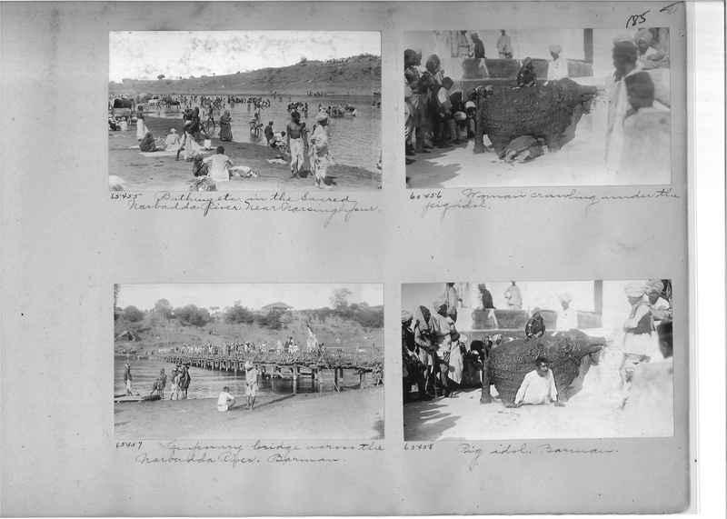 Mission Photograph Album - India #08 Page 0185