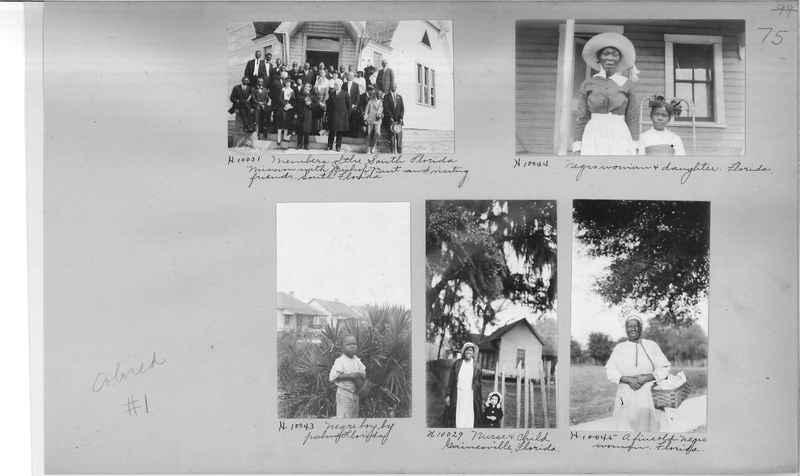Mission Photograph Album - Negro #1 page 0075
