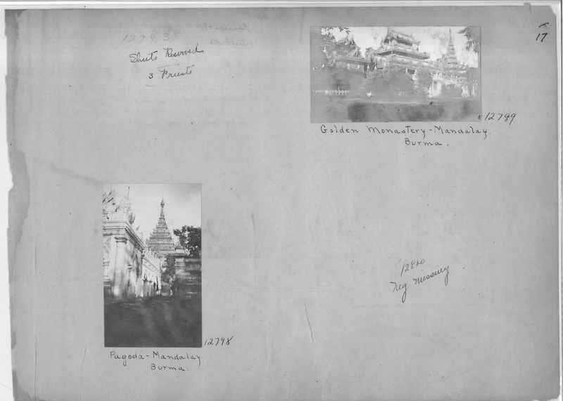 Mission Photograph Album - Burma #1 page 0017