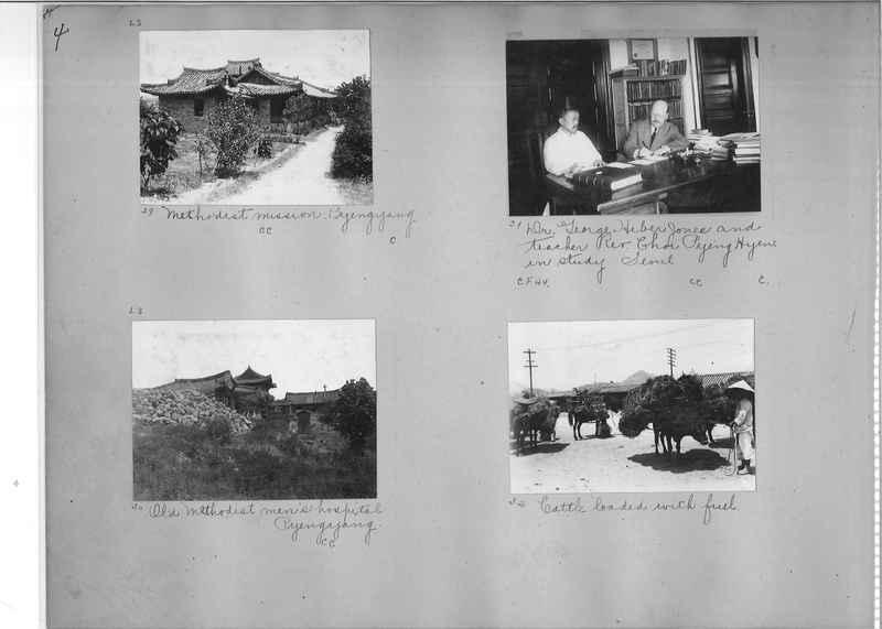 Mission Photograph Album - Korea #1 page 0004