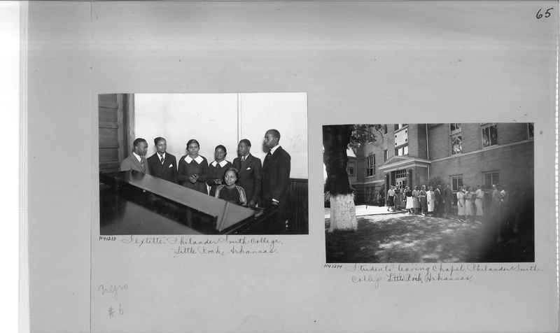 Mission Photograph Album - Negro #6 page 0065