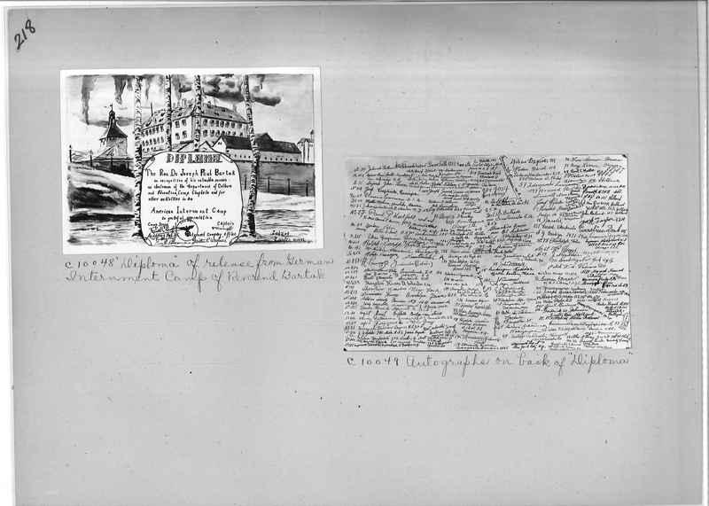 Mission Photograph Album - Miscellaneous #02 Page 0218