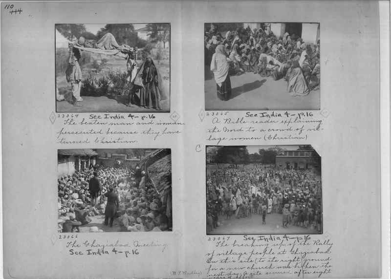 Mission Photograph Album - India - O.P. #01 Page 0110