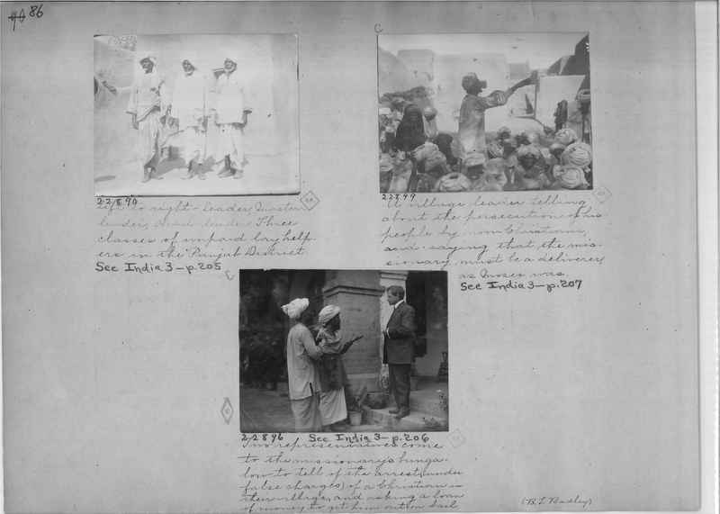 Mission Photograph Album - India - O.P. #01 Page 0086
