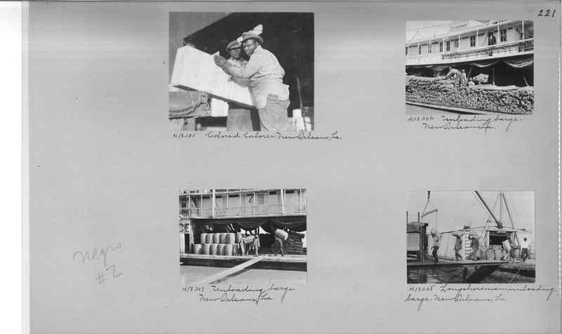 Mission Photograph Album - Negro #2 page 0221