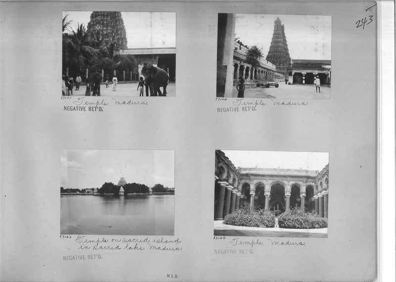 Mission Photograph Album - India #09 Page 0243