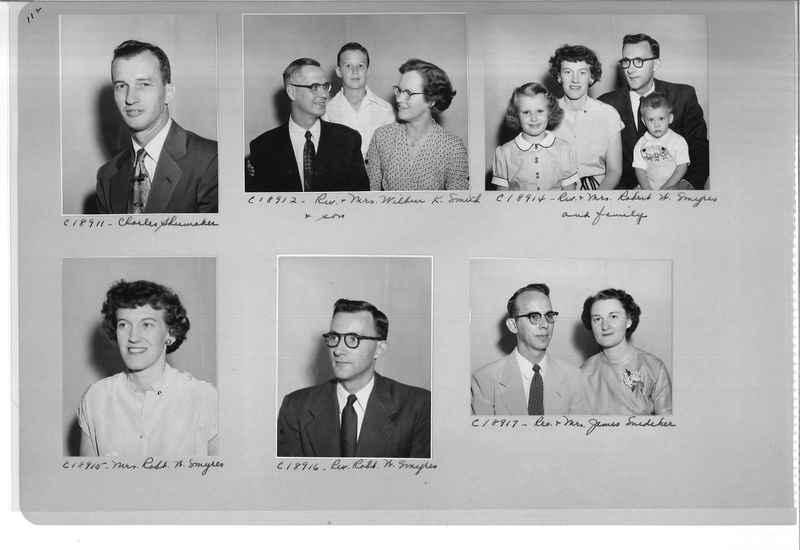 Mission Photograph Album - Portraits #08 Page 0112