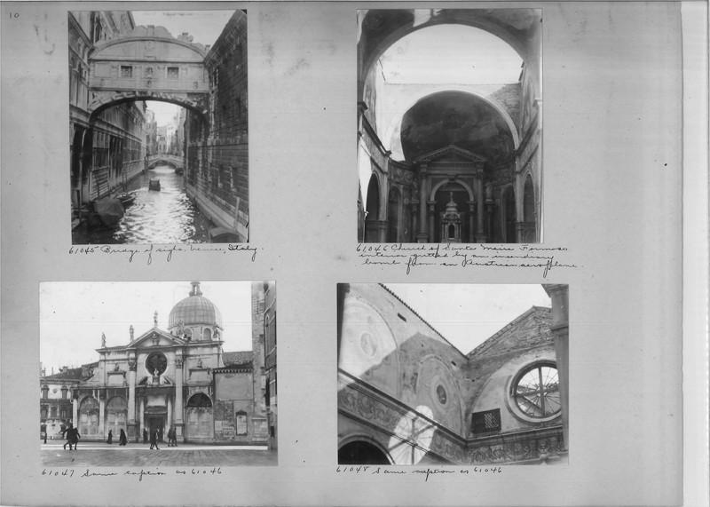 Mission Photograph Album - Europe #04 Page 0010